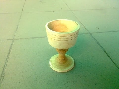 Чашка из дерева своими руками на токарном станке