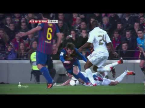 Barcelona V.S Real Madrid 2012 (slow-motion) Eyes on Fire - Blue Foundation/Remix