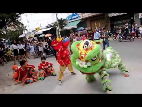 Clip đường phố - Màn múa lân đẳng cấp|nghệ thuật múa lân||Việt Nam