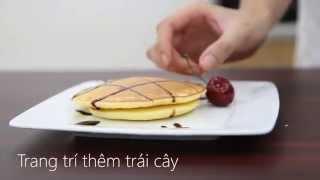 Cách làm bánh Pancake ngon ngất ngây   Điện máy XANH