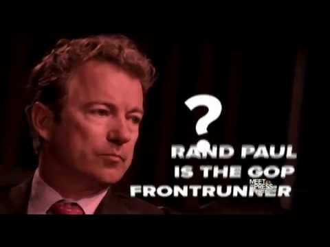 Meet the Press: Rand Paul is the 2016 Republican frontrunner