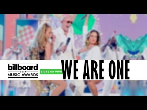 We Are One - Pitbull, Claudia Leitte and Jennifer Lopez [live in Billboard Music Awards 2014]