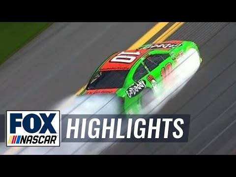 Danica Patrick and Tony Stewart blow engines in Daytona 500 practice - 2014 NASCAR Sprint Cup