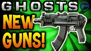 NEW GUN DLC! Call Of Duty: Ghosts Multiplayer Map Packs