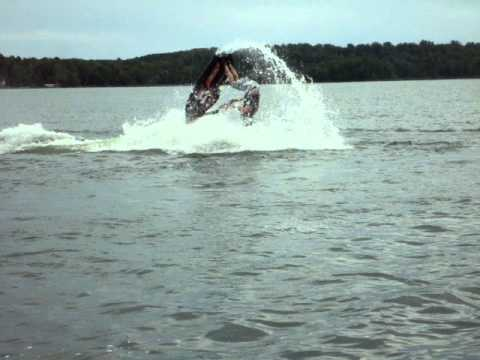 My Flat Water Backflip Stand Up Jet Ski