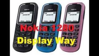 Nokia 1280 Display Way And Light Solution