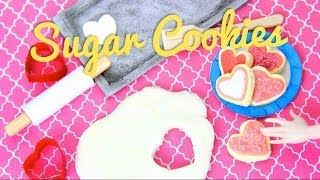 How To Make Doll Sugar Cookies