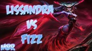 Lissandra Vs Fizz Mid Lane Season 4 League Of Legends