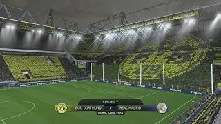 (PS4) FIFA 14 Dortmund Vs Real Madrid FULL GAMEPLAY