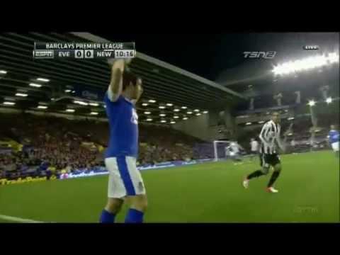 Leighton Baines vs. Newcastle United (17.09.12)