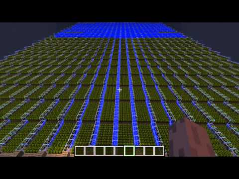 (14175 Wheat) Biggest Minecraft Wheat farm, EVER. (No lag) (HD) kuusj98
