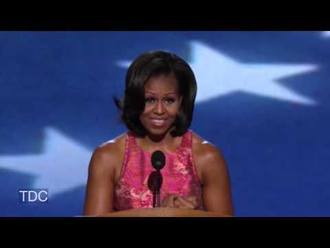 Michelle Obama's DNC Speech (HD-Full) -AV6nxR4A_1A