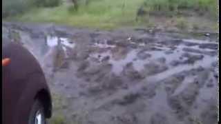 SUBARU R2 4WD король грязи!