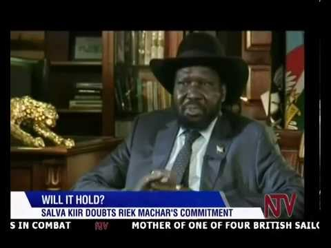 Salva Kiir doubts Riek Machar's commitment