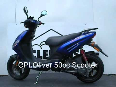cpi oliver 50cc scooter no motorcycle license required in. Black Bedroom Furniture Sets. Home Design Ideas