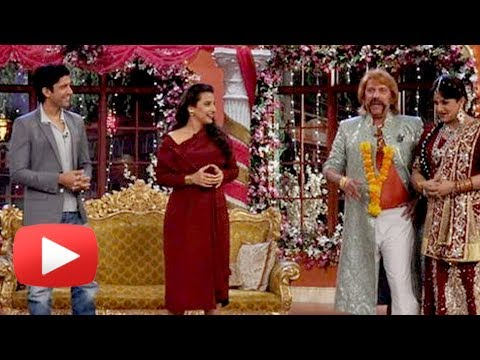 Vidya Balan, Farhan Akhtar Attend Bua's Wedding In Comedy Nights With Kapil