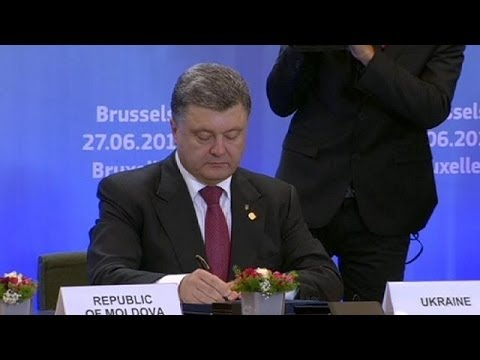 EU signs trade deals with Ukraine, Georgia and Moldova
