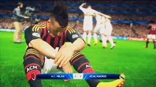 PES 2014 Milan Vs Real Madrid Final UEFA Champions