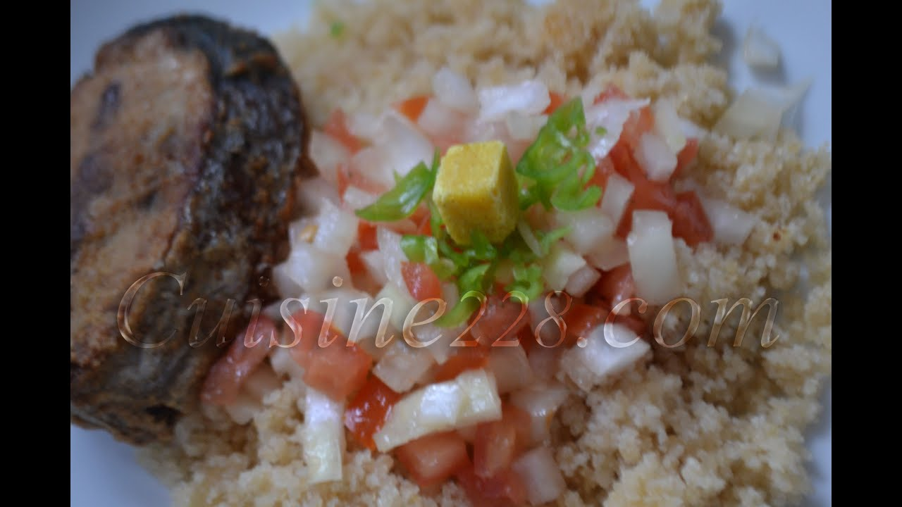 Recette du garba attieke thon ivorian cuisine youtube for Cuisine africaine