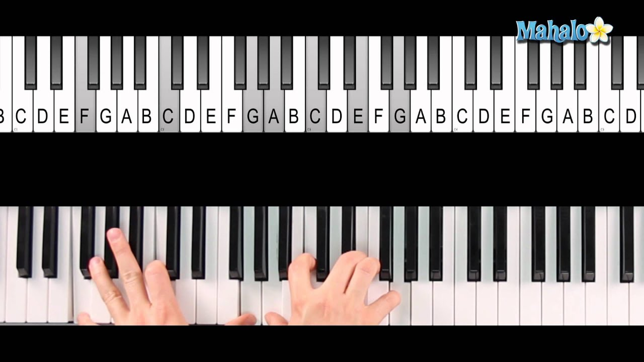 how to play ag chord on piano