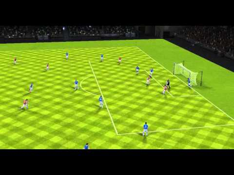 FIFA 14 Android - Everton VS Arsenal