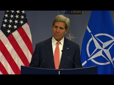 Russia 'must' take steps to end Ukraine crisis: Kerry