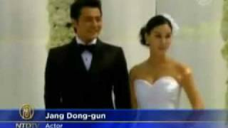 Jang Dong-gun & Ko So-young Lavish Wedding: South Korean