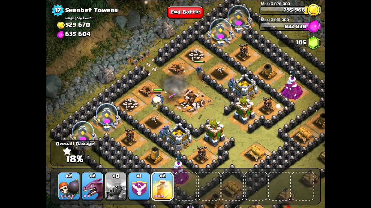Clash Of Clans Sherbet Towers 3 Stars Youtube | Apps Directories