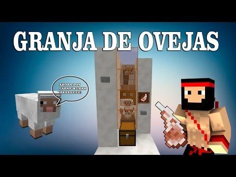 | TUTORIAL REDSTONE | GRANJA DE OVEJAS 1.8.