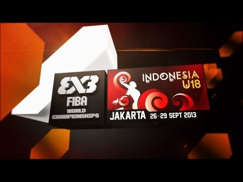 [REWATCH] Full day 4 of 2013 FIBA 3x3 U18 World Championships Jakarta (29 Sep.)