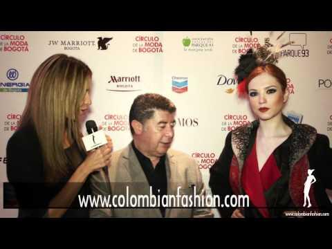 Círculo de la Moda de Bogotá 2012 - Entrevista Arturo Tejada