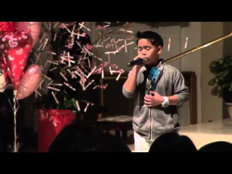 You Raise Me Up by Josh Groban sung live by 10 year old Sam Santiago at Hearts of Hope Concert