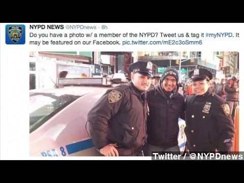 #myNYPD Sparks Negative Reactions Toward NY Police