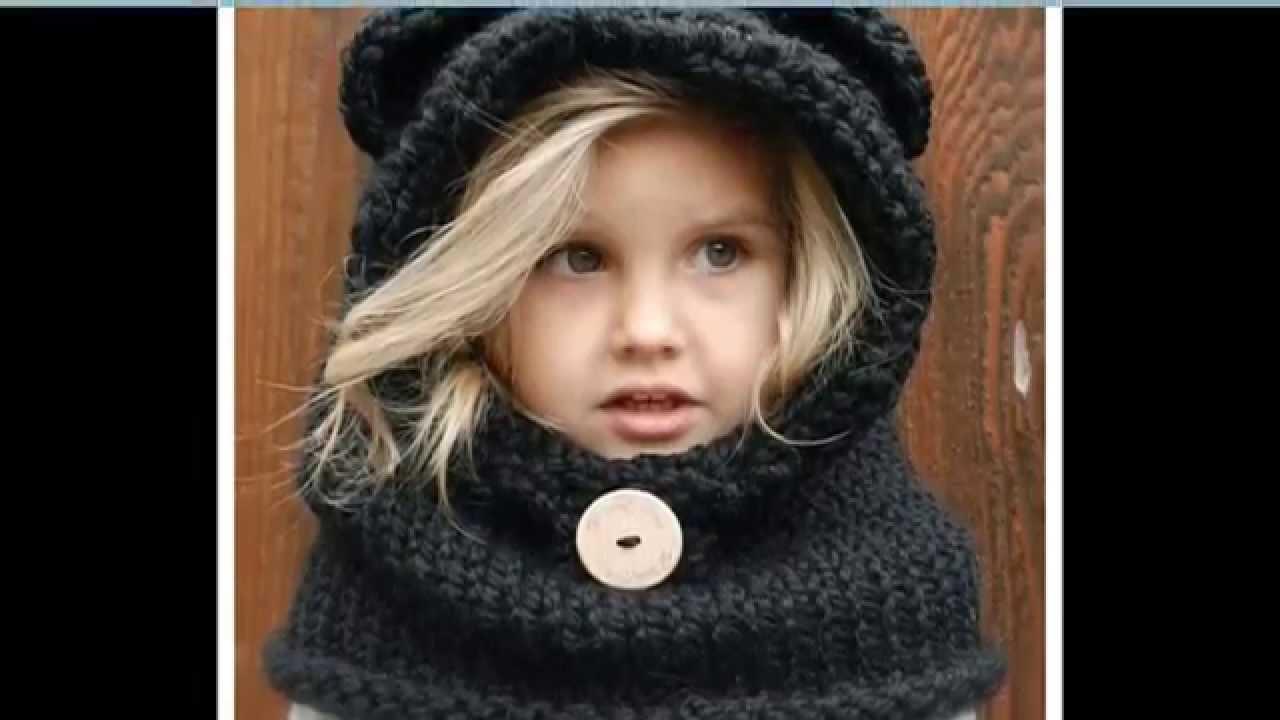 Вязание для детей шапка снуд с ушками