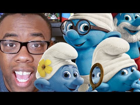 SMURFS MOVIE REBOOT COMPLETELY ANIMATED : Black Nerd