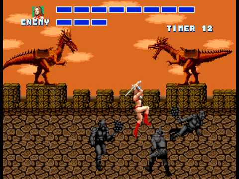 Golden Axe - The Duel 2 - User video