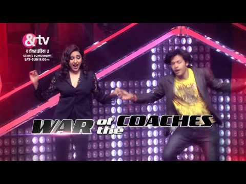 War Of The Coaches | The Voice India S2 | Promo | Starts Tomorrow | Sat - Sun, 9 PM