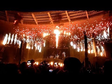 Indochine - L'Aventurier (Final) Live @ Stade de France, Paris, 2014-06-27 HD