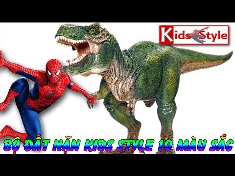 Đồ chơi Khủng long và siêu nhân nhện, Khủng long đẻ trứng kids style