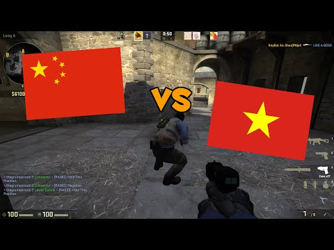 CHINA VS VIETNAM! - CS:GO Funny Moments and Plays