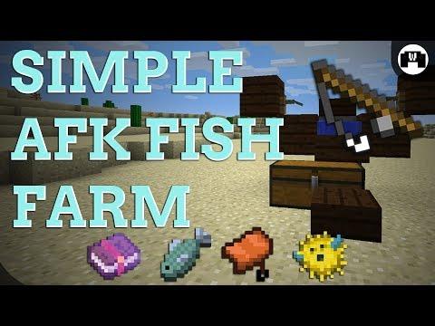 AFK Fish Farm TUTORIAL | 1.12 FRIENDLY , EASY , COMPACT