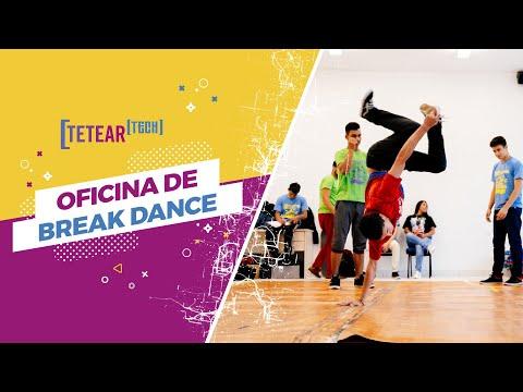 Oficina de Break Dance - Tetear Tech 2019