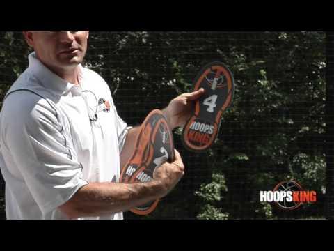 HoopsKing Footwork Training Spots - Improve Basketball Footwork Aid