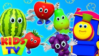 Fruits Song   Learning Street With Bob The Train    Nursery Rhymes   Song For Toddlers by Kids Tv