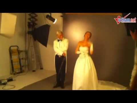 Hậu trường chụp ảnh cưới độc đáo của Lý Hải