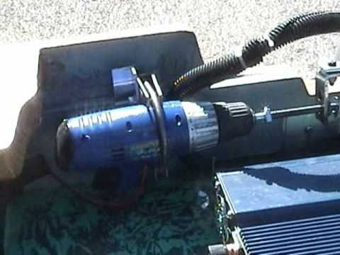 Homemade Electric Helm Steering Outboard Motors The All