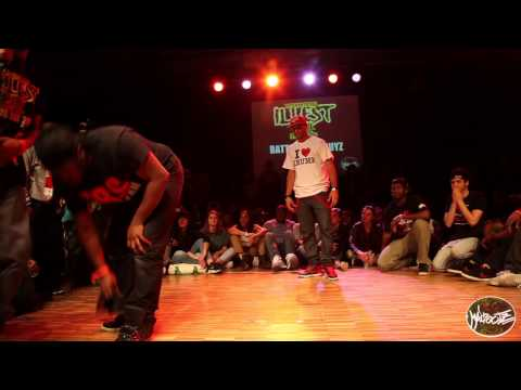 INTERNATIONAL ILLEST BATTLE 1/8 DE FINALE GUYZ I JR STRETCH vs SOULJA SEUSH