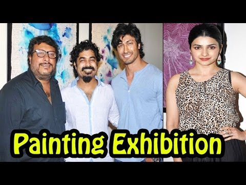 Hot Actress Prachi Desai Spotted @ Gaurav Bose Art Exhibition Momentia