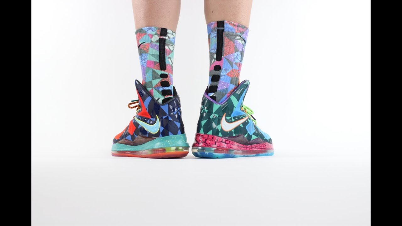 """Nike Lebron 10 """"What The MVP"""" ON FEET Review - YouTube"""