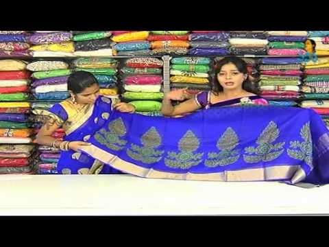 Banarasi Chanderi Sarees with Blouses